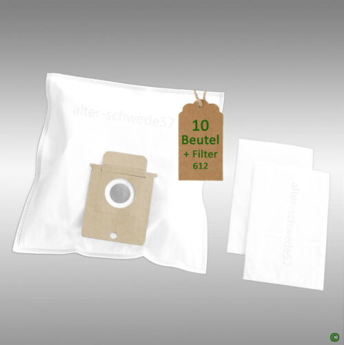 10 Staubsaugerbeutel geeignet f AEG Vampyr TC Carpetto Comfort  #612