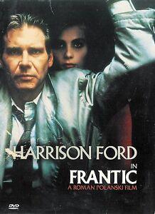 Roman-Polanski-039-s-Frantic-Harrison-Ford-DVD-FREE-Shipping-USA