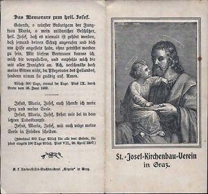 St-Josef-Iglesia-Graz-Wallfahrt-Cuadro-Santos-Amria-Austria-B-5760