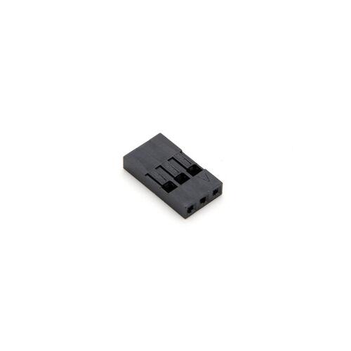 100X 3P Dupont Wire Kabelgehäuse Female Pin Steckverbinder 2,54 mm Pitch