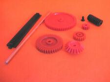 Single Hobby model plastic gears cog wheel  shaft interlock rack 4mm centre hole
