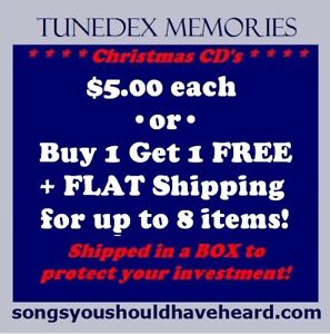 Christmas-CD-039-s-5-each-or-BOGO-Buy-1-get-1-FREE-3-29-flat-shipping