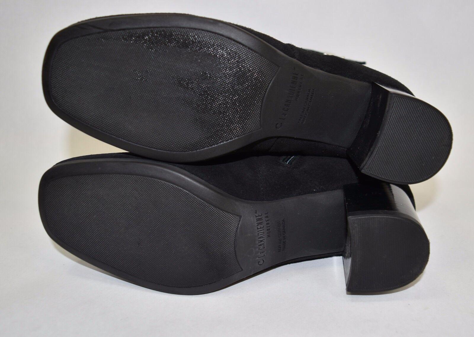 400 LA CANADIENNE Jade' Jade' Jade' Waterproof Bootie SUEDE BLACK NICE COMFORT 5.5 M (W12) 48e6dc