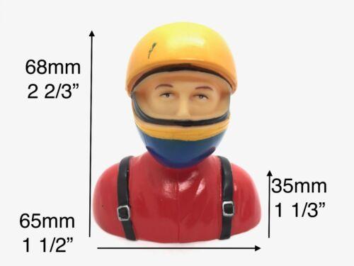 "1//6 Pilot Figure w// Helmet RC Plane Car Models 2 2//3/""x2 1//2/""x1 1//3/"" TH031-01703A"