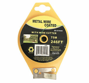 5x-246-FT-Green-Garden-Twist-Tie-Metal-Wire-Roll-w-Cutter-for-Gardening-Kitchen