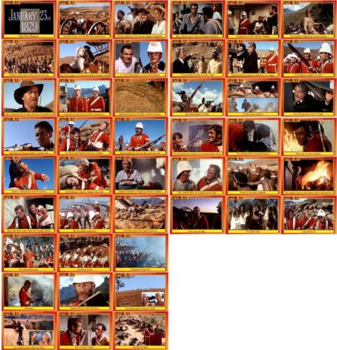 Zulu Movie Storyboard Trading Cards Baker Caine Rourkes Drift VC