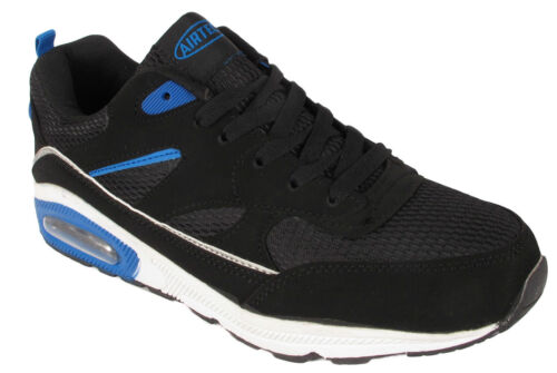 NEW KIDS BOYS RUNNING YOUTH WALKING SHOCK ABSORB AIR BUBBLE LACE UP SPORT SHOES