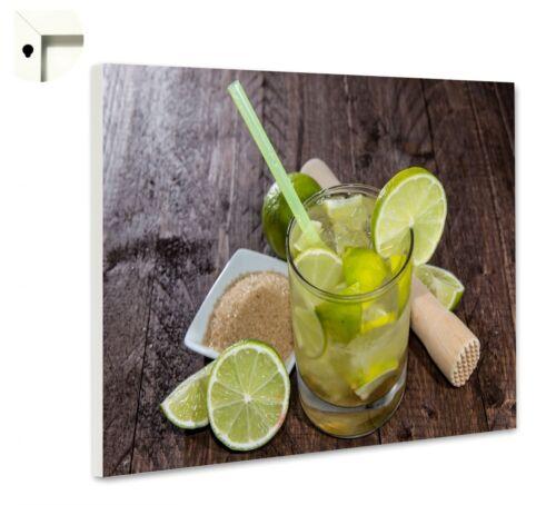 Magnettafel Pinnwand Motiv Essen /& Trinken Bar Cocktail Caipirinha
