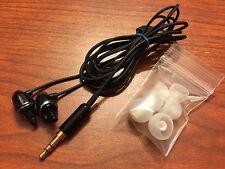 1ST GEN Genuine Klipsch Image S4 Black In Ear EarBud Headphones -Upgraded Plug