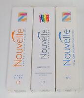 Nouvelle Hair Color Permanent Cream Color 100 Ml Choose Your