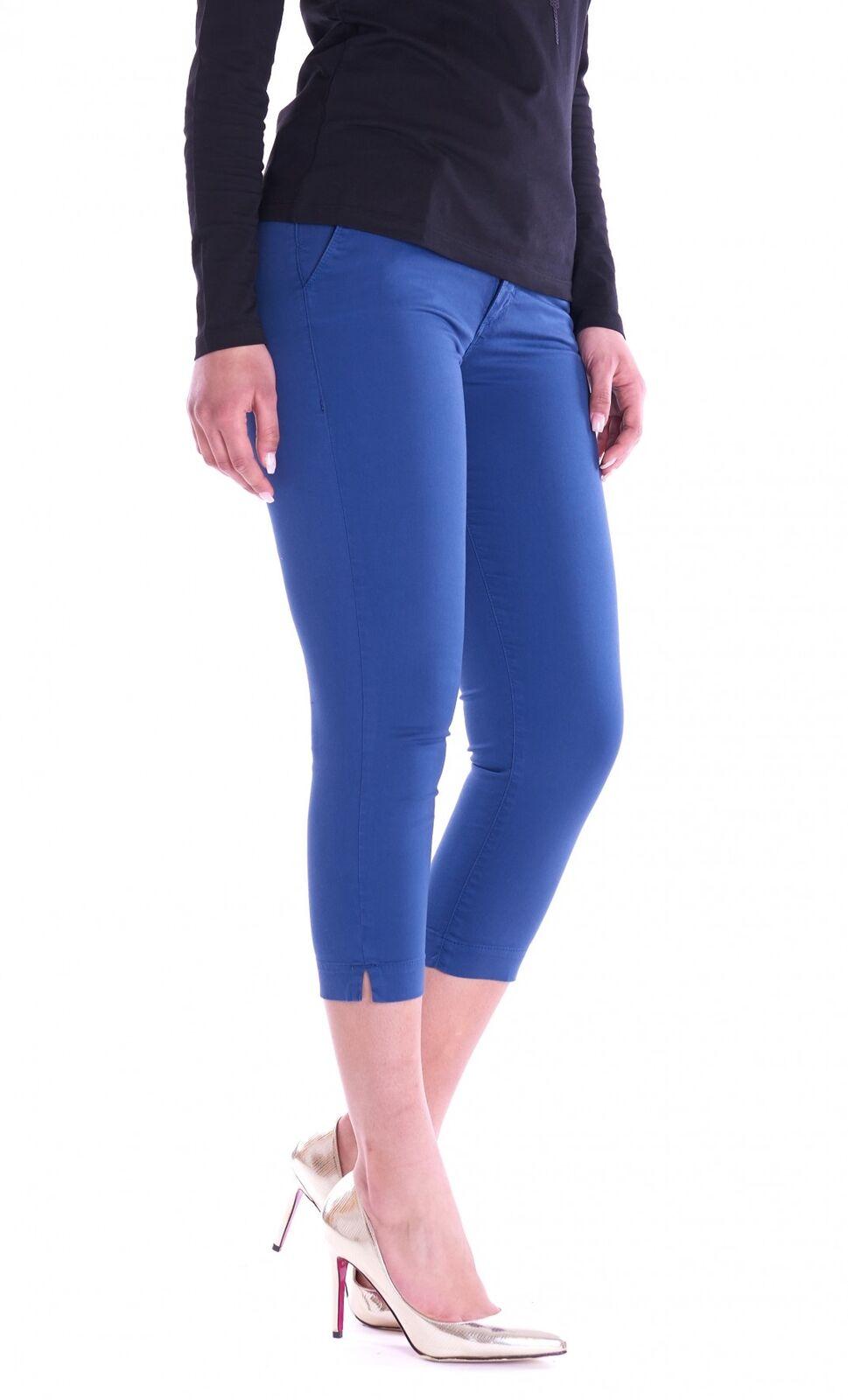 PANTALONE TRUSSARDI JEANS 260 CAPRI blue Trussardi Jeans 56P00008-1Y092015-U604-P