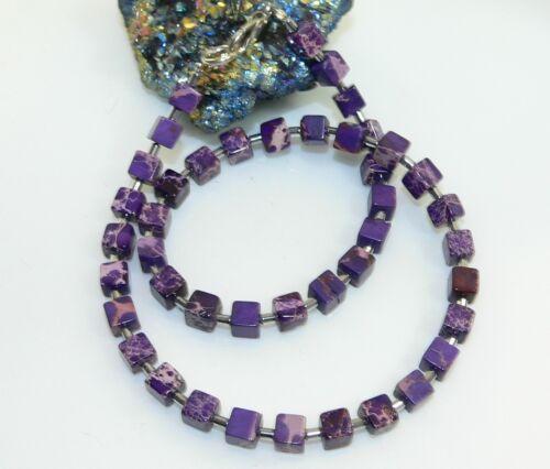 Cadena collar Edelstein joyas Impressions jaspe lila jaspeado 213f