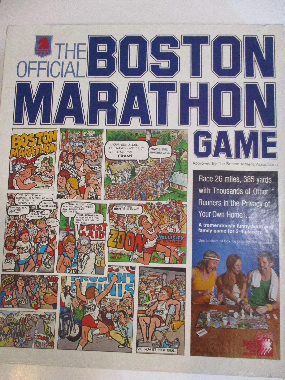 RAME s officiella Boston Marathon Game 1978 Fullständig RARE årgång