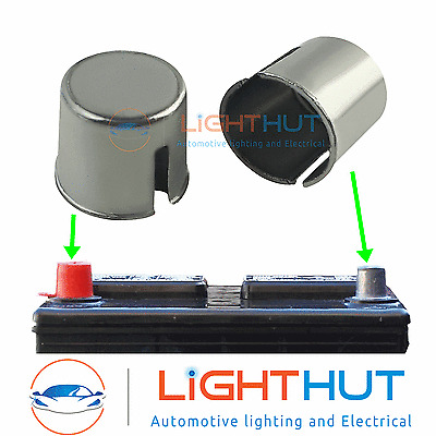 2x Car Vehicle Battery Terminal Post Adapter Shim Lf