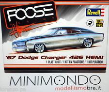 KIT 1967 DODGE CHARGER 426 HEMI FOOSE DESIGN 1/25 REVELL MONOGRAM 4051 04051
