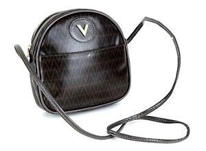3fa3e480cc Auth Mario Valentino PVC Canvas Small Shoulder Bag Purse Made Italy ...