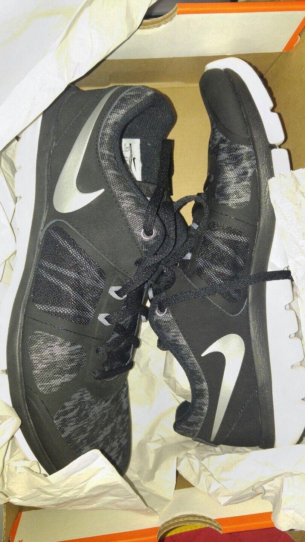 Nike Men's Flex 2014 Grey/White RN Running Shoe Black/Cool Grey/White 2014 Men 9.5 US 69514d