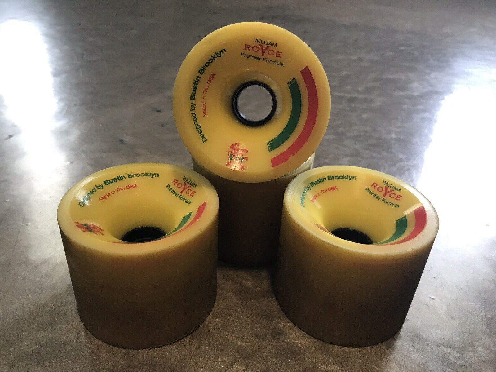 Bustin brooklyn william  royce wheels 75mm  we supply the best