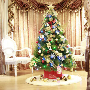Pointsetta Christmas Tree.Details About Poinsettia Christmas Tree 5 Ft Foot Led Multi Light Led Artificial Holiday