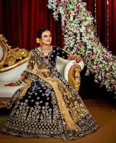Bollywood Fastival Indian Evening Wedding Lengha Party Designer Lehenga Choli
