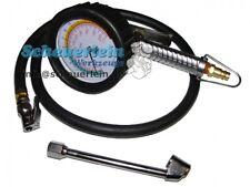 Druckluft Reifenfüllpistole 0-15 bar / Reifen Füllgerät Druck Messgerät Prüfer