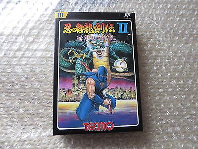 Japanese Game Nintendo Famicom Ninja Ryukenden 2 Tecmo Brand New !