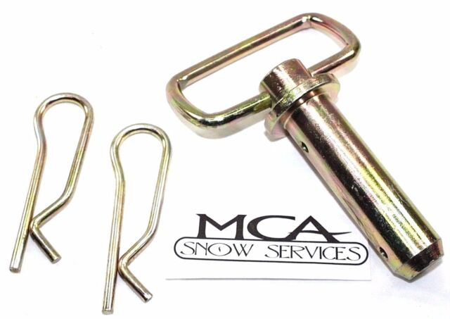 New 1 Hitch Pins w// Hairpin Cotters Western Snowplows 93028 Unimount Plow 2