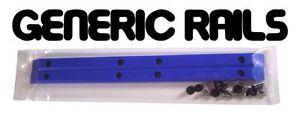 NOS-Generic-SIDE-RAILS-Skateboard-Gorilla-Rib-Bone-Style-Grab-Rails-BLUE