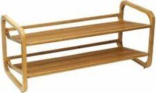Item 1 Oceanstar Design 2 Tier Bamboo Shoe Rack 29.5