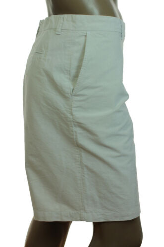 NEW MENS CLUB ROOM FLAT FRONT OXFORD CASUAL COTTON SHORTS