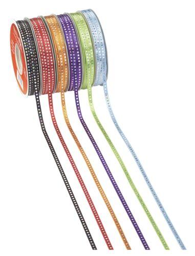 2 m CREApop-Band Punkte irisierend Glitzer 5 mm - versch. Farben
