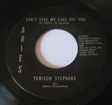Tenison Stephens WHERE WOULD YOU BE / CAN'T TAKE MY EYES OFF YOU 45 Aries SOUL