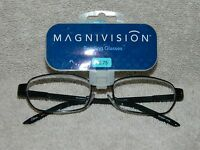 +magnivision Style - Pierre Brown Reading Glasses +2.75