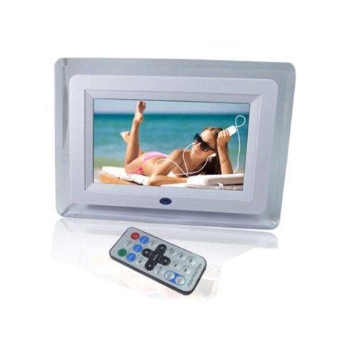 CORNICE DIGITALE 7 7 7 POLLICI CON TELECOMANDO LETTORE USB FOTO VIDEO SD MP3 7bf7b5