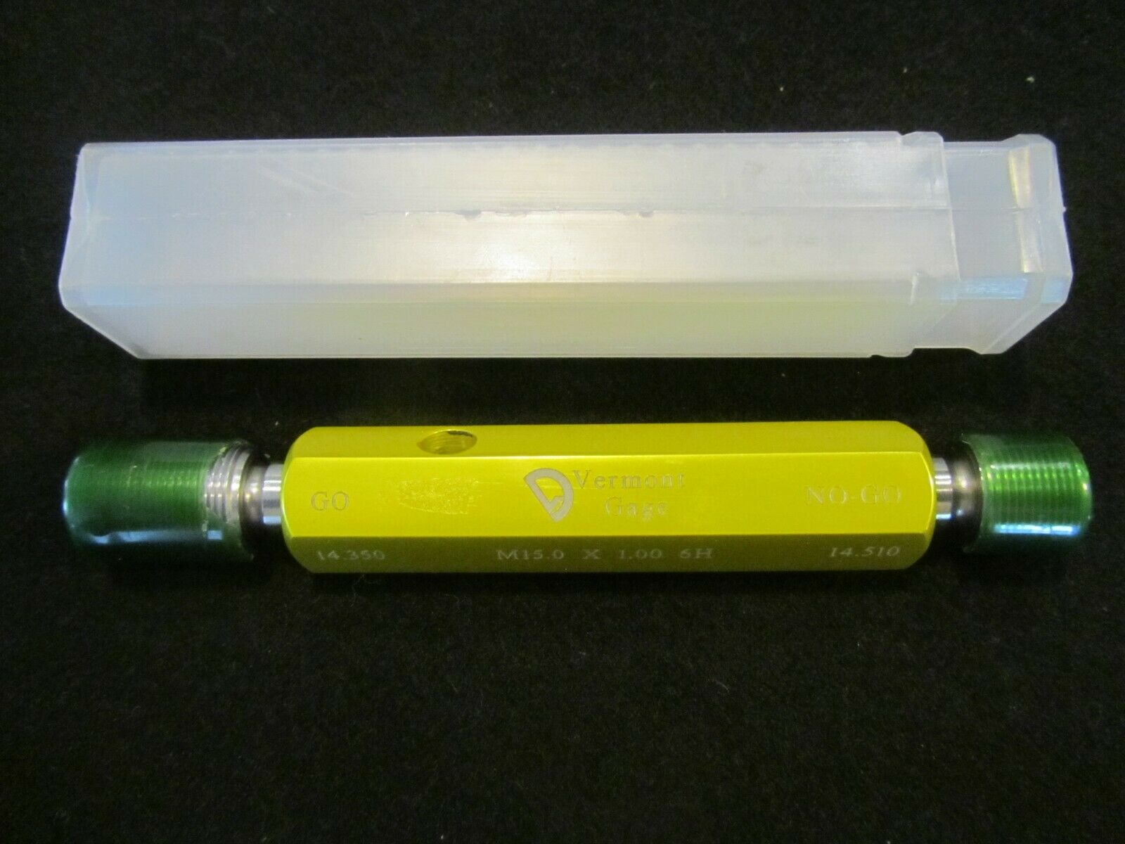 M10 X 1 6H Metric Thread Plug GAGE 10.0 1.0 GO NO GO P.D.S = 9.350 /& 9.500 1.00