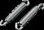 Moose Racing 67mm Stainless Steel Swivel Exhaust Springs Fits Suzuki RM 125 250