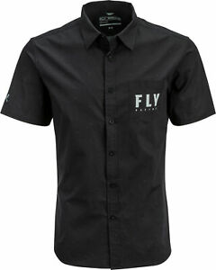 Fly Racing Fly Pit Shirt Black Sm 352-6213S