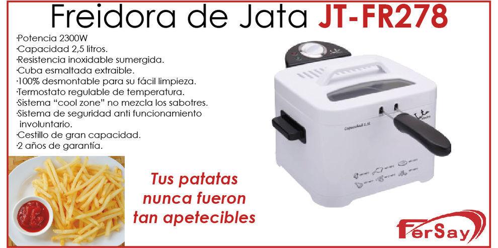 Frier 2300W capacity 84.5oz Jata FR278. Deep fryers