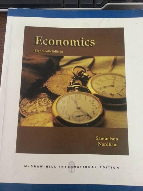 Economics Samuelson Nordhaus Pdf
