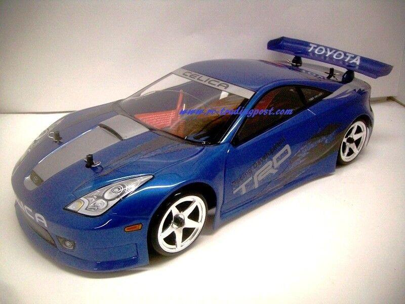 Custom Painted Body TOYOTA CELICA for 1/10 RC Drift Cars Touring HPI 200mm