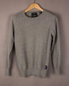 SCOTCH-amp-SODA-Men-Slim-Fit-Cotton-Wool-Knit-Jumper-Sweater-Size-S-ATZ1004