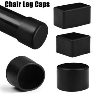 Round Bottom Cups Non-Slip Covers Silicone Pads Chair Leg Caps Furniture Feet