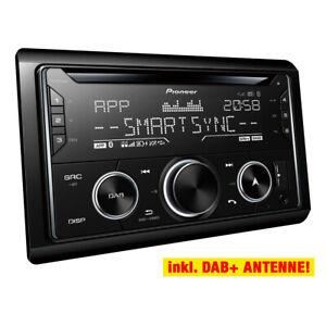 PIONEER-2-DIN-DAB-USB-CD-Autoradio-Radio-Set-fur-SKODA-Superb-1-3U-2001-2007