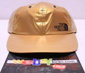 2f1d1ded2 Details about Supreme x The North Face TNF Metallic 6 Panel Gold Cap Camp  Hat SS18H1 New
