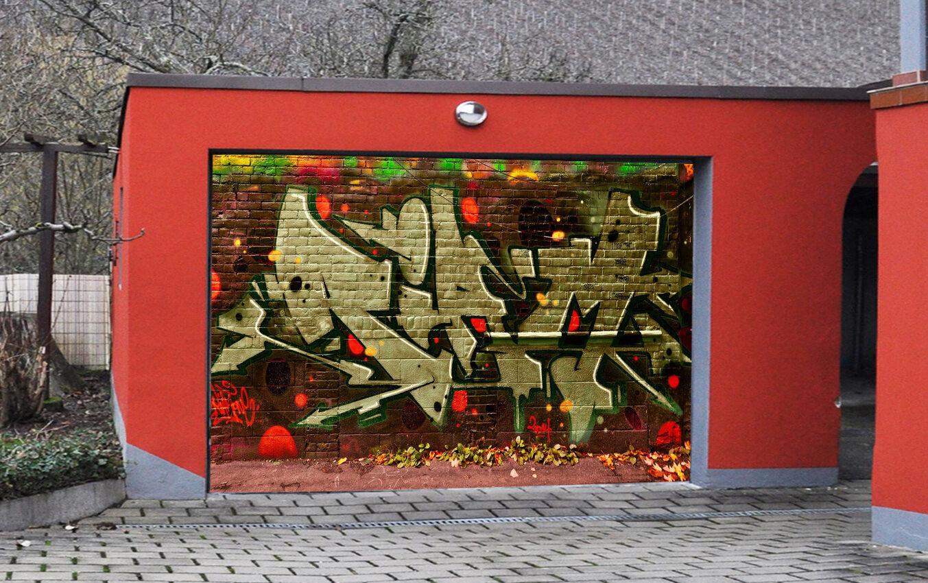 3D Graffiti 828 Garage Door Murals Wall Print Decal Wall AJ WALLPAPER AU Carly