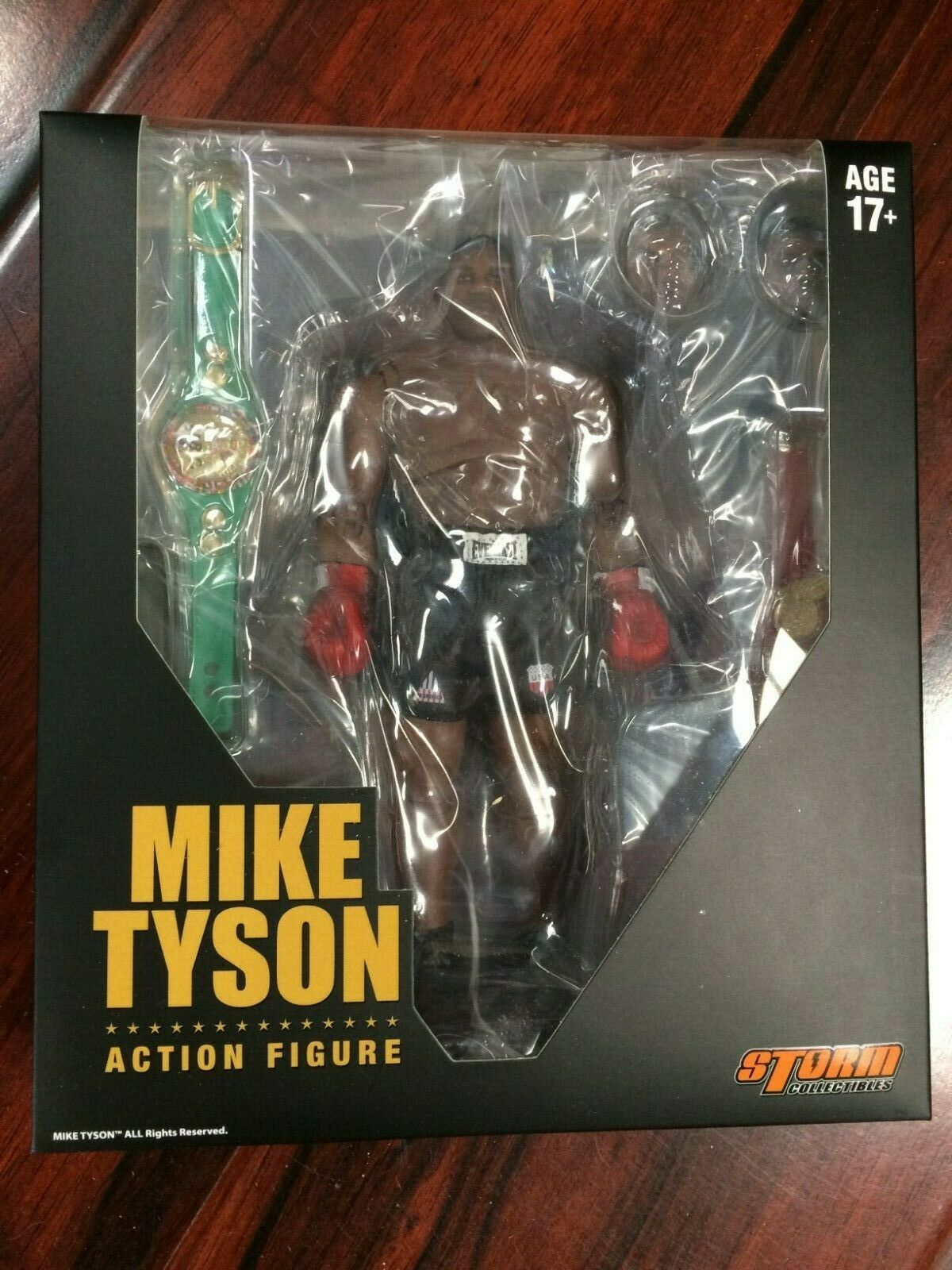 100% AUTHENTIC  STORM COLLECTIBLES MIKE TYSON scatolaing 112 cifra US SELLER