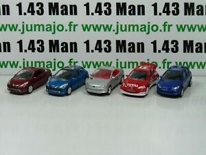 LOT-n-1-5-X-3-inches-1-64-PEUGEOT-NOREV-206-3-porte-cc-racing-207-3p-cc