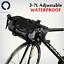 Roswheel 7L Waterproof Black Bike Bicycle Handlebar Bag Pannier Cycling Dry Pack