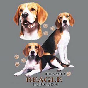 Not a Beagle Just a Dog Ladies Womens Small-4 X Large Ladies Tank Tops