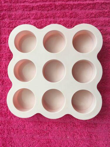 Round Silicone Mold Shiny Circle Silicone Mold Circular Resin Mold for Resin